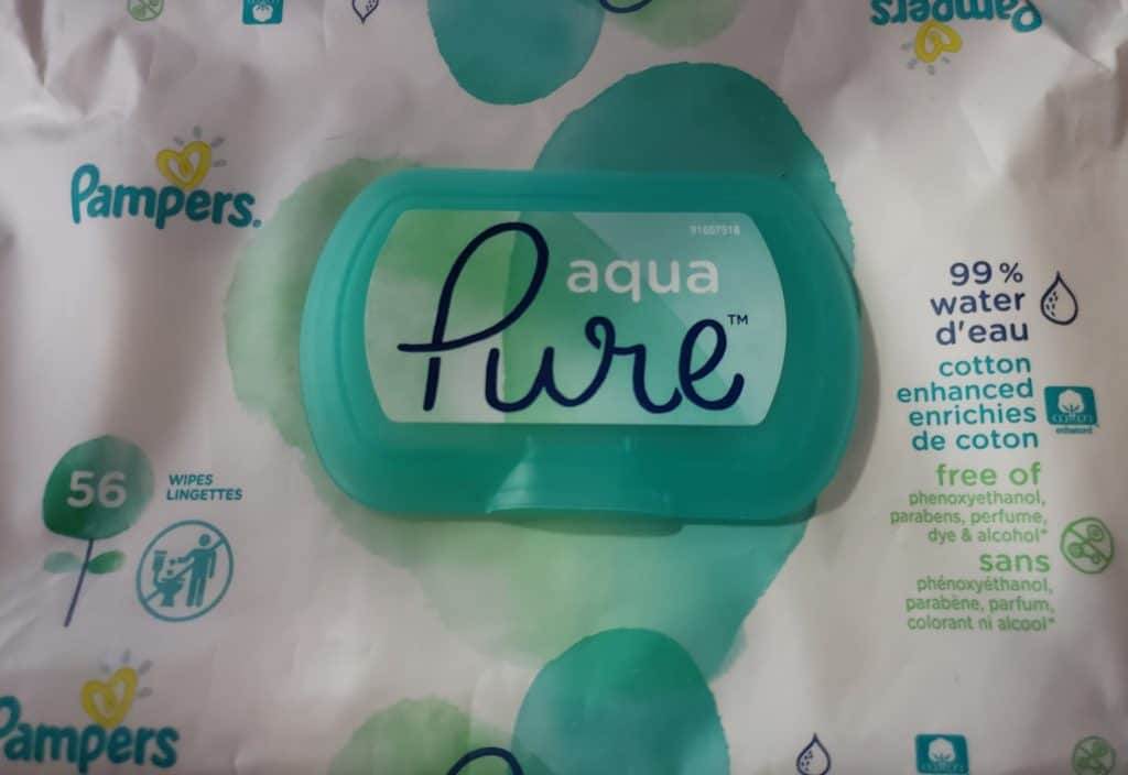 Pampers Pure Wipes Review