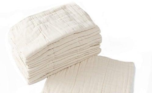 pre-fold cloth diaper