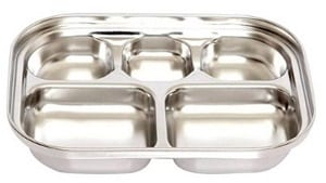 stainless steel plateware