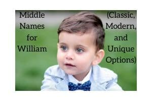 Middle Names for William