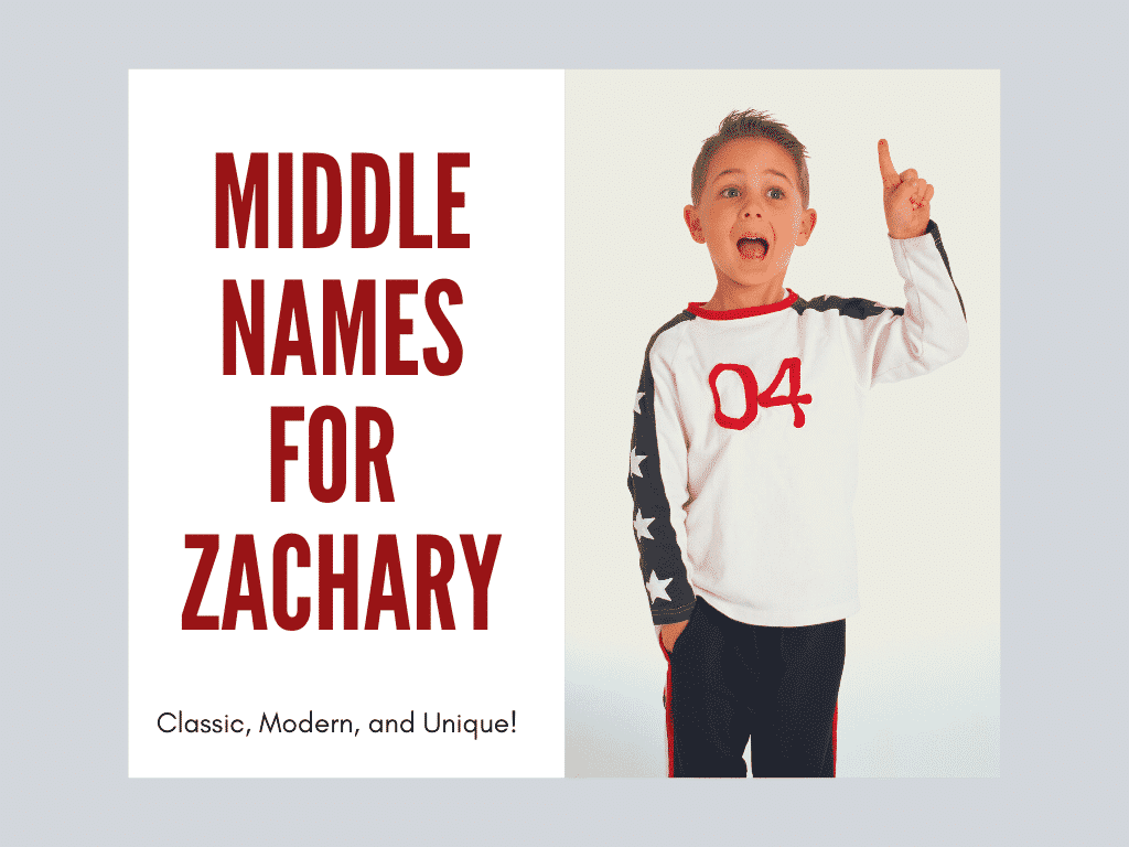 Middle names for Zachary